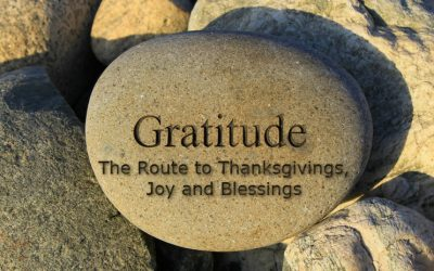Gratitude: The Route to Thanksgivings, Joy and Blessings
