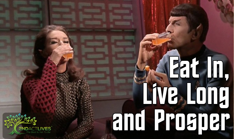 Part Two: Eat In, Live Long and Prosper